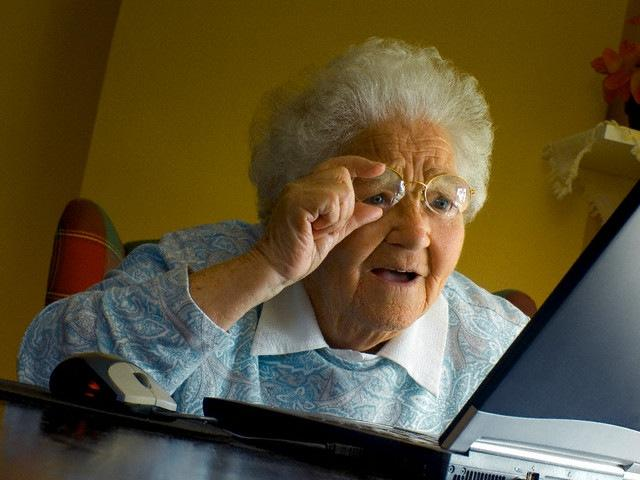 Grandma Finds The Internet Meme Template Thumbnail
