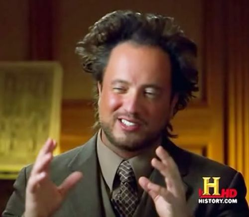 Ancient Aliens Meme Template Thumbnail